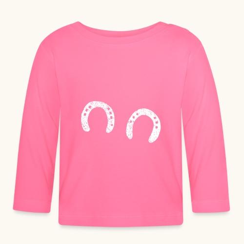 Fer à cheval forgeron bonheur Drôle d'idée cadeau cheval - T-shirt manches longues Bébé