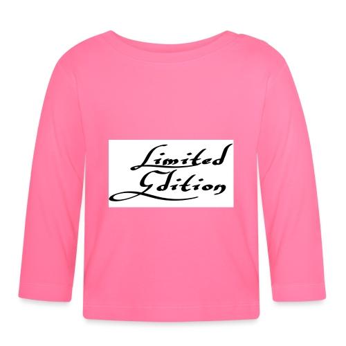 Limited edition - Vauvan pitkähihainen paita