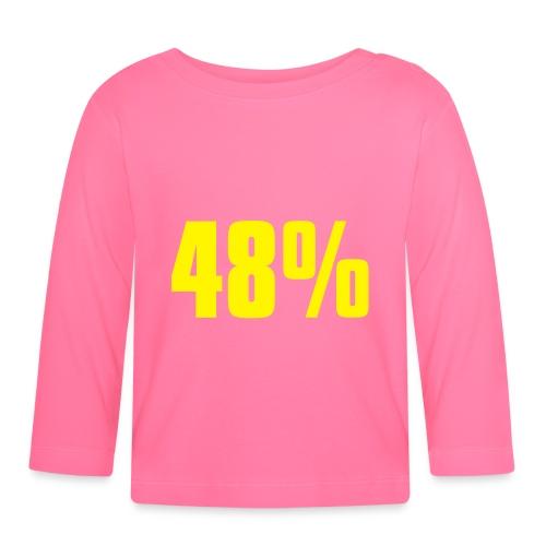 48% - Baby Long Sleeve T-Shirt