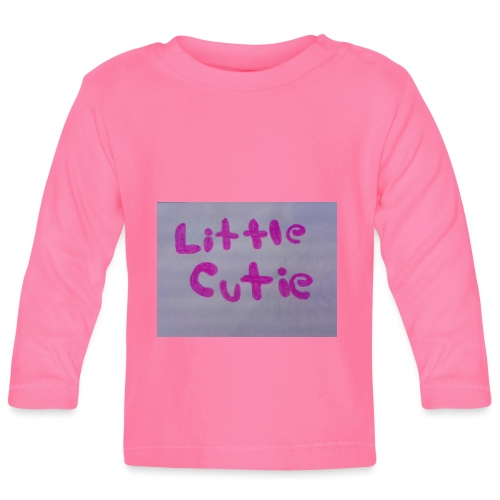 Pink Little Cutie clothing - Baby Long Sleeve T-Shirt