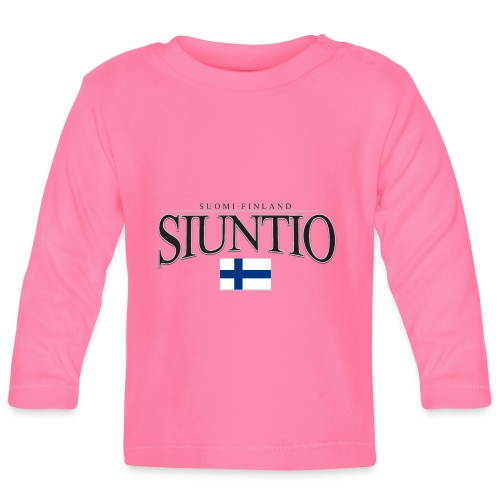 Suomipaita - Siuntio Suomi Finland - Vauvan pitkähihainen paita