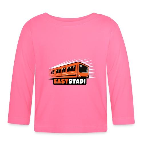 ITÄ-HELSINKI East Stadi Metro T-shirts, Clothes - Vauvan pitkähihainen paita