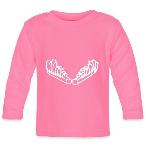 Kiehiset_logo_walk - Vauvan pitkähihainen paita
