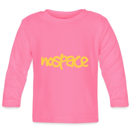 Nospace Yellow by Dougsteins - Baby Long Sleeve T-Shirt