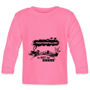 tractorpulling is not for sissies zwart - T-shirt