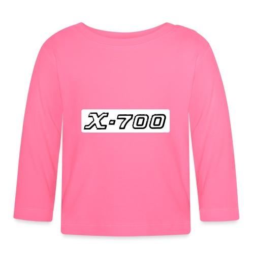 Minolta X-700 White - Maglietta a manica lunga per bambini