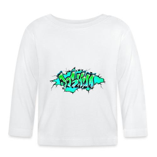 GRAFFITI JOSHUA PRINTABLE WALL BROKE - T-shirt manches longues Bébé