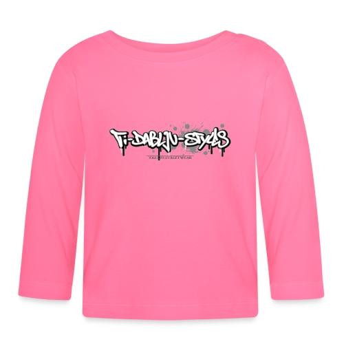 ti-dablju-styles_Logo - Baby Langarmshirt