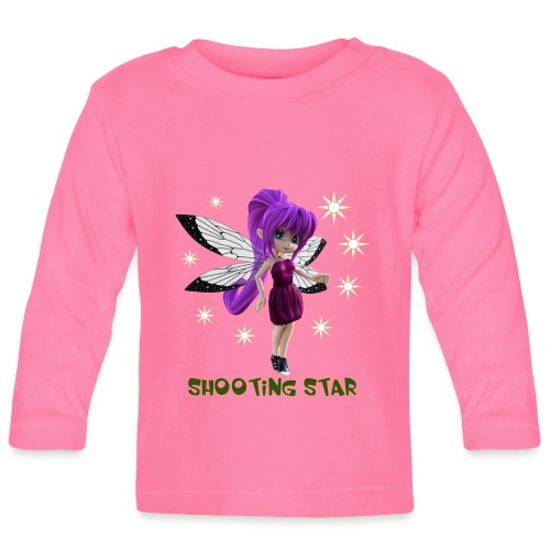 Shooting Star - Baby Langarmshirt