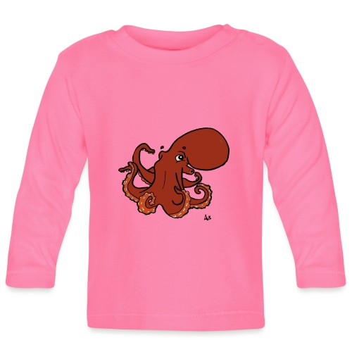 Giant Pacific Octopus - Baby Long Sleeve T-Shirt