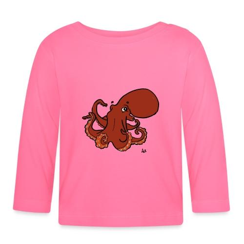 Giant Pacific Octopus - Langarmet baby-T-skjorte