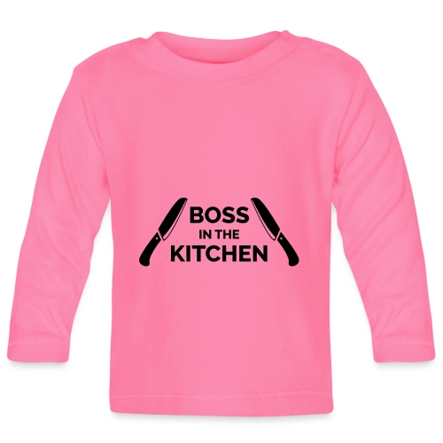 Boss in the Kitchen - Baby Long Sleeve T-Shirt