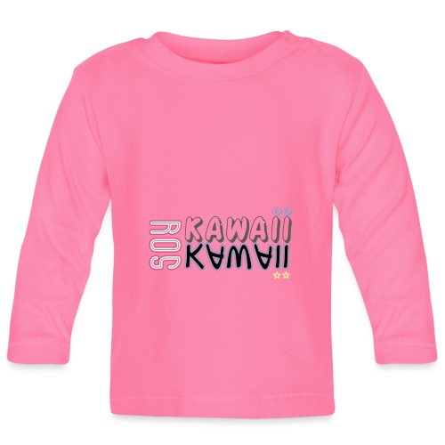 SOY KAWAII - Camiseta manga larga bebé