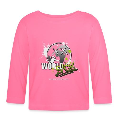 world sick - Baby Langarmshirt