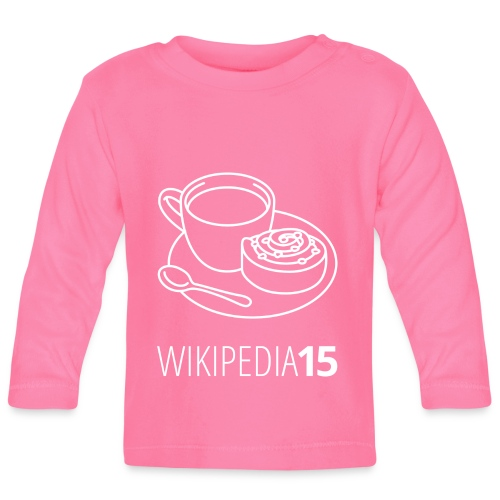 Fika, figursydd (herr) - Långärmad T-shirt baby