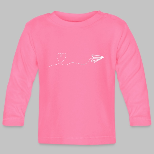 fly heart - Baby Long Sleeve T-Shirt