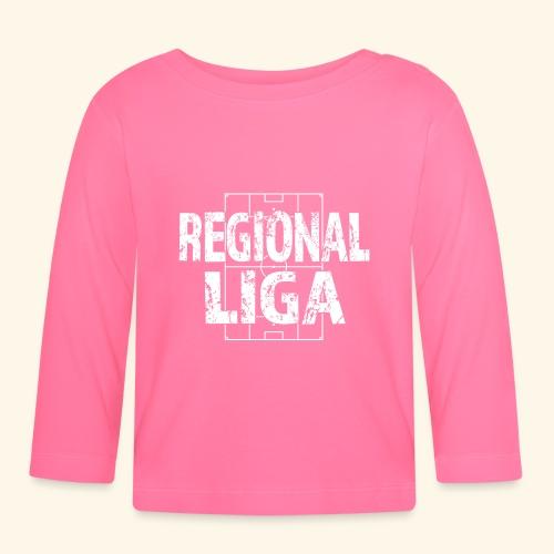 REGIONALLIGA im Fußballfeld - Baby Langarmshirt