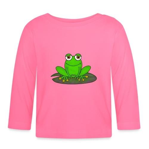Frosch - Baby Langarmshirt