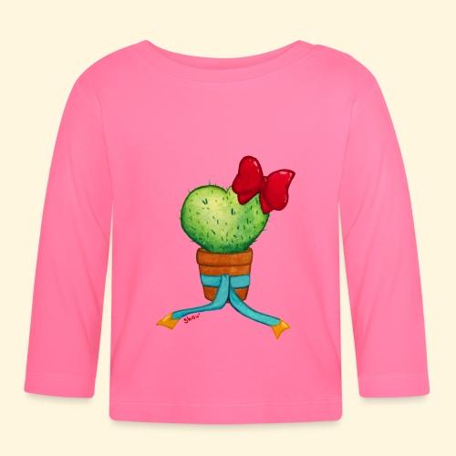 Cactus Coeur - T-shirt manches longues Bébé