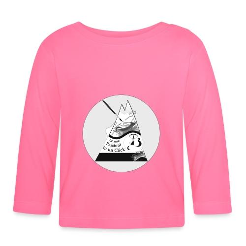 Logo BN - Maglietta a manica lunga per bambini