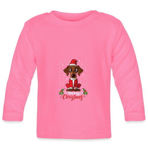 Dachshund Custome - Baby Long Sleeve T-Shirt