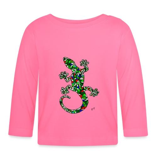 lucertola - Maglietta a manica lunga per bambini