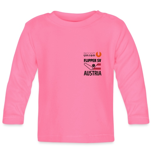 flippersv austria union or - Baby Langarmshirt