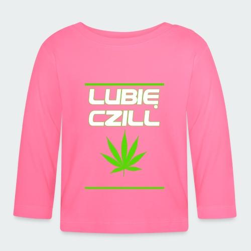 Męska Koszulka Premium Czill - Koszulka niemowlęca z długim rękawem