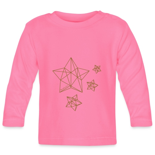 Sternenhimmel Diamant - Baby Langarmshirt