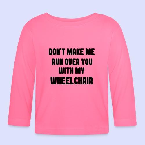 Rolstoel humor 004 - T-shirt