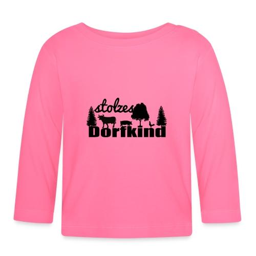 stolzes Dorfkind - Baby Langarmshirt
