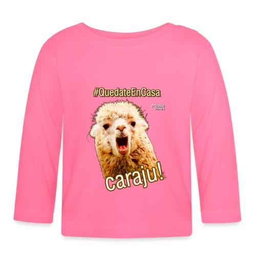 Quedate En Casa Caraju - Baby Long Sleeve T-Shirt