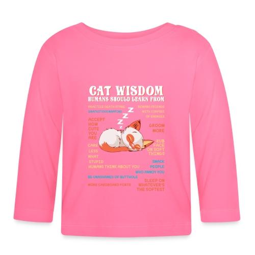 CAT WISDOM - T-shirt manches longues Bébé