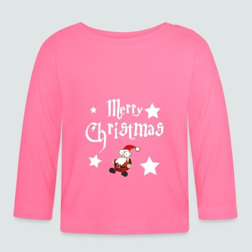Merry Christmas - Ugly Christmas Sweater - Baby Langarmshirt