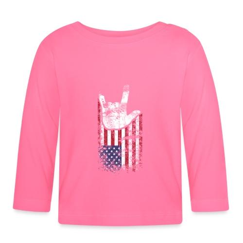 ILY Handsign USA - Baby Langarmshirt