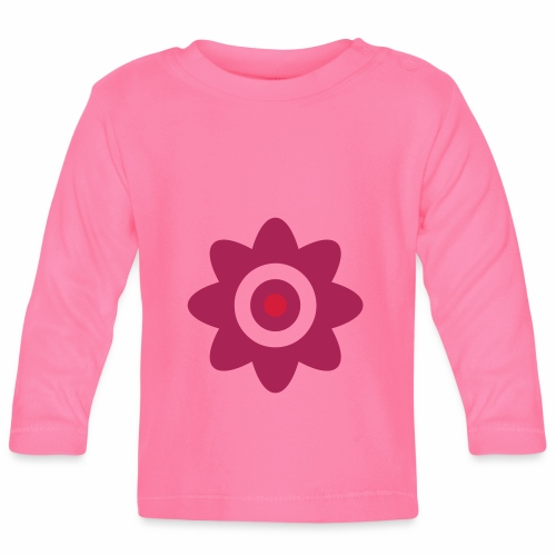 A plain flower - Baby Long Sleeve T-Shirt