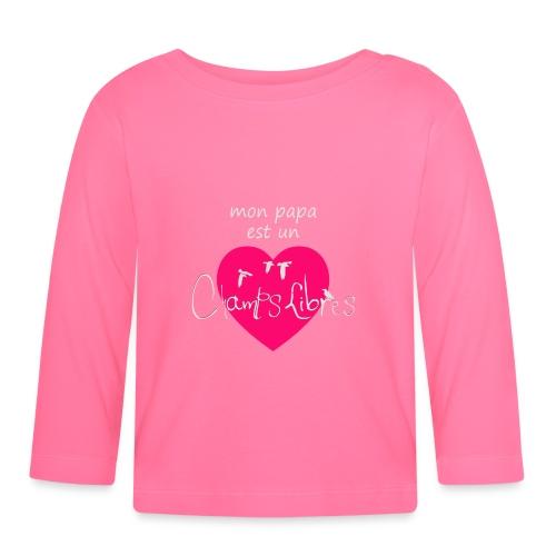 CLgirly png - T-shirt manches longues Bébé