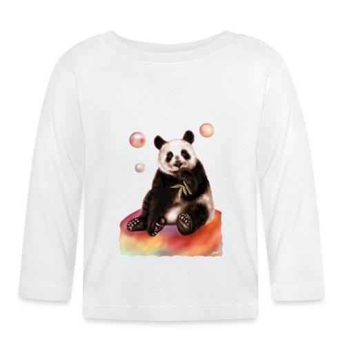 Panda World - Maglietta a manica lunga per bambini