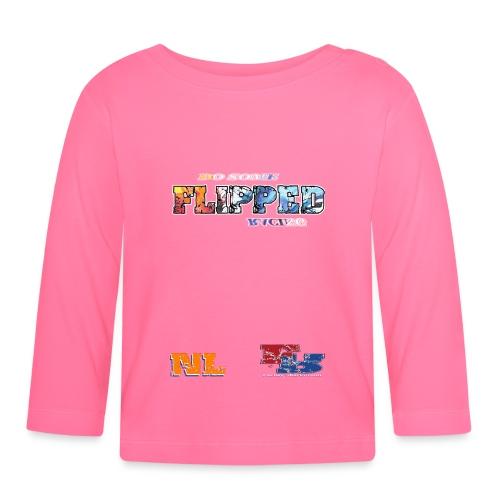 Flipped Racing, Do Some W / Logo - Baby Long Sleeve T-Shirt
