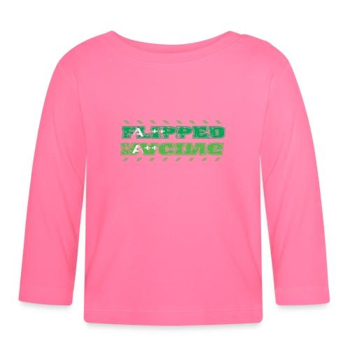 Flipped Racing, A-Plus No Logo - Baby Long Sleeve T-Shirt
