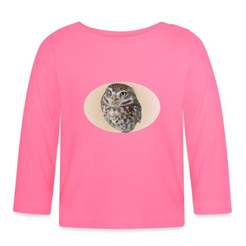 magic owl background gold transparent - Baby Long Sleeve T-Shirt
