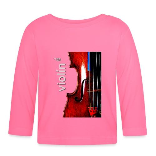 Geige i - Baby Langarmshirt