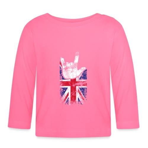 ILY Handsign Großbritannien - Baby Langarmshirt