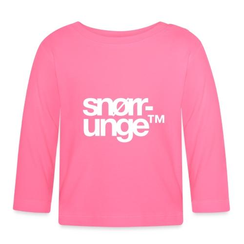 Snørrunge™ - Langarmet baby-T-skjorte