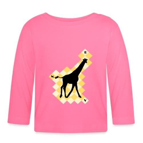 GiraffeSquare - Vauvan pitkähihainen paita