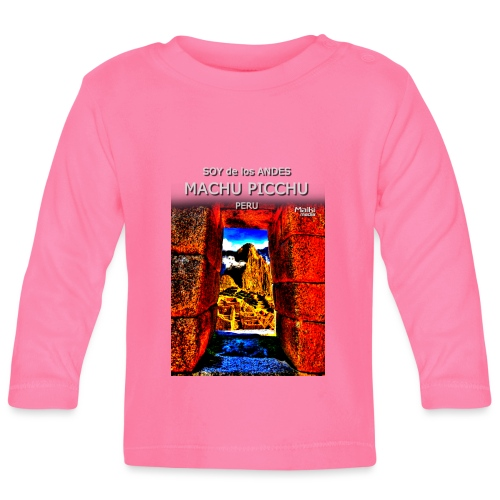SOJA de los ANDES - Machu Picchu II - Camiseta manga larga bebé