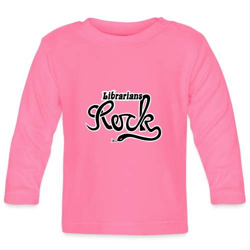 Librarians ROCK - Långärmad T-shirt baby