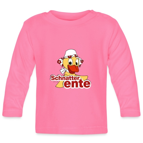 Schnatterinchen Schnatterente - Baby Langarmshirt
