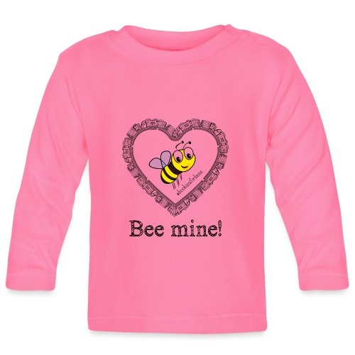 Bees3-1 save the bees | bee mine! - Baby Long Sleeve T-Shirt