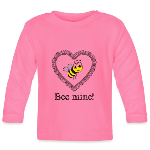 Bees3-2 save the bees | bee mine! - Baby Long Sleeve T-Shirt
